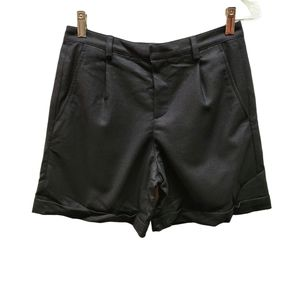A.P.C. Charcoal Wool Shorts